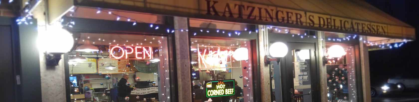 Katzingers Delicatessen exterior