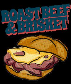 Roast beef & brisket